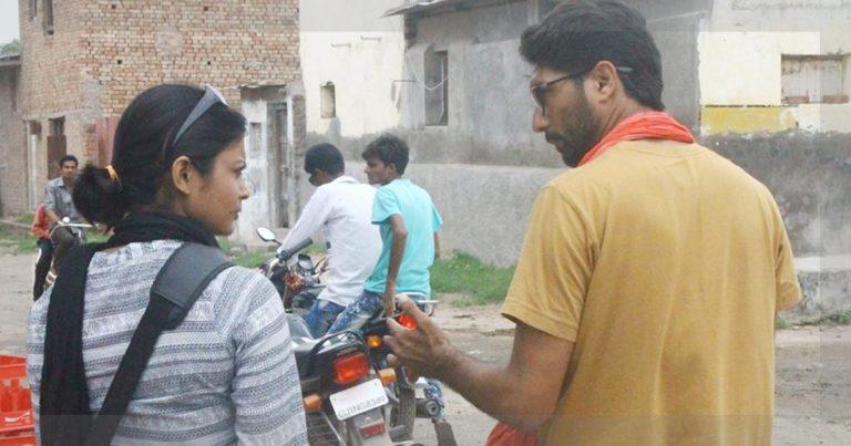DAMAYANTEE DHAR with Jignesh Mevani