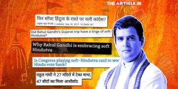Soft Hindutv Card Rahul Gandhi