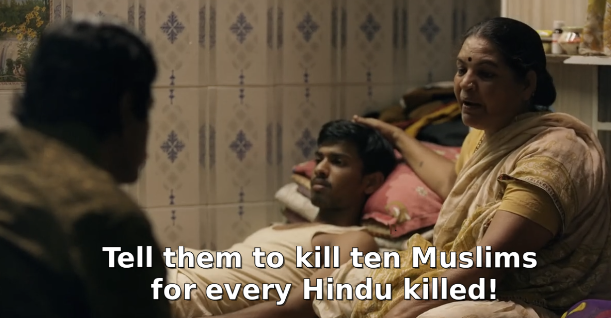 Sacred Games_Hindu Killing Message
